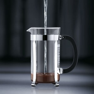 Bodum Chambord French Press Step 2 Add Water