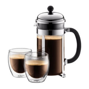 Bodum Chambord French Press Set With Two Glasses