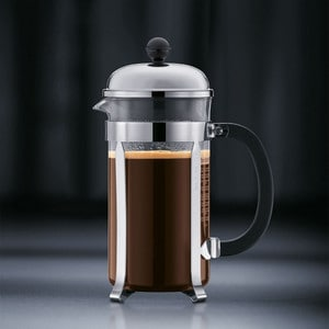 Bodum Chambord Coffee Press Step 4 Enjoy coffee