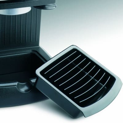 DeLonghi EC 155 Espresso and Cappuccino Maker drip cover tray