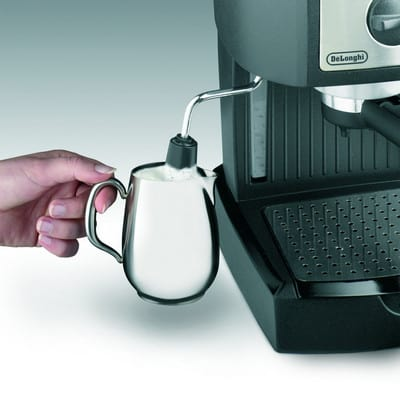 De'Longhi EC 155 Espresso and Cappuccino Maker milk frother