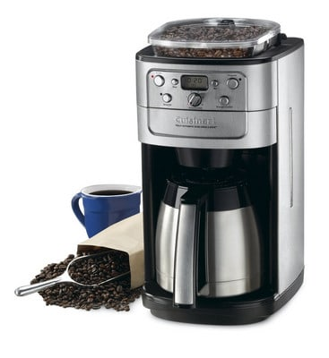 Cuisinart DGB-900BC Grind And Brew Thermal 12-Cup Automatic Coffee Maker With Coffee Mug and Whole Beans