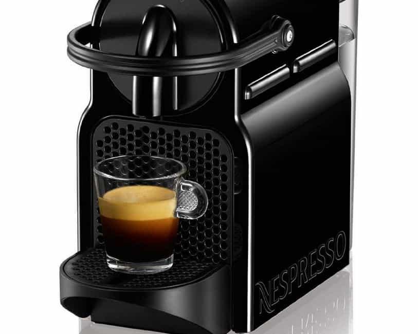 Nespresso Inissia Coffee Machine Black Aeroccino Plus Milk Frother ...