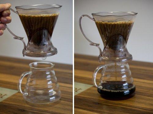 Coffee Shrub Clever Coffee Dripper Shut-Off Valve Demonstration
