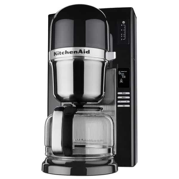 KitchenAid Automatic Pour Over Coffee Maker black left