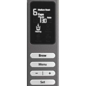 Control Panel of KitchenAid coffee maker kcm0802