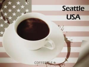 Coffee in Seattle, USA