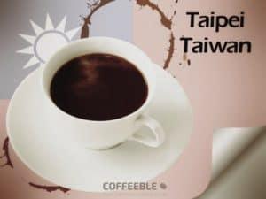 Coffee in TAipei, Taiwan