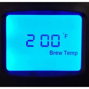 Temperature Display Behmor Brazen Plus