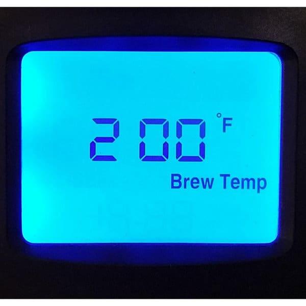 Behmor Brazen Plus set temperature