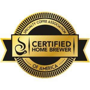 SCAA Certified Coffee Maker Logo