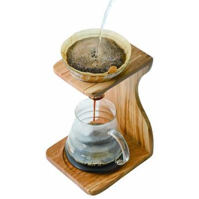 Hario V60 with wooden olive stand