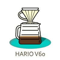 Hario V60 Pour Over Coffee Dripper