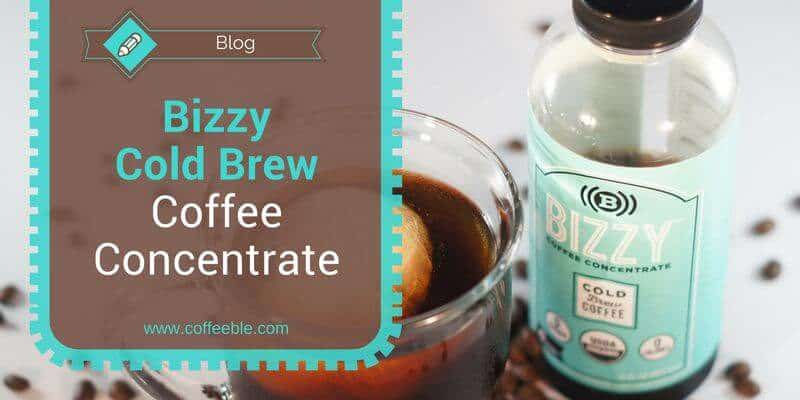 Bizzy Organic Cold Brew Coffee Concentrate