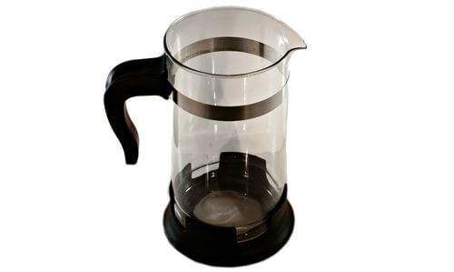 french press carafe or beaker