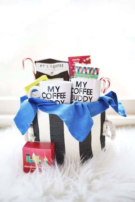 his and hers coffee gift basket