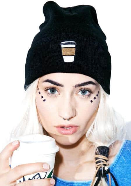dollskill coffee beanie