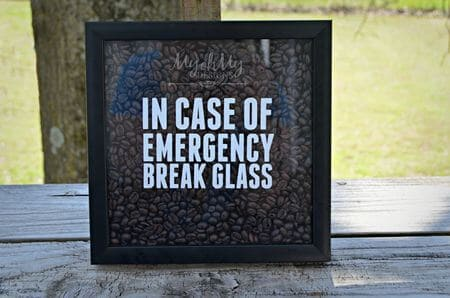 in case of emerency coffee picture