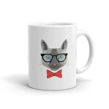 hipsta kitty mug