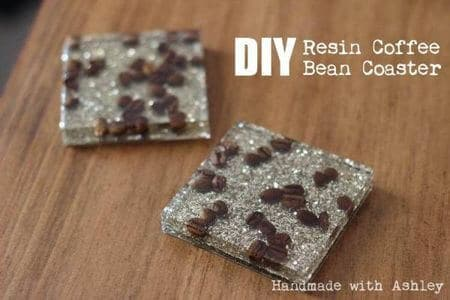 coffee bean coasters