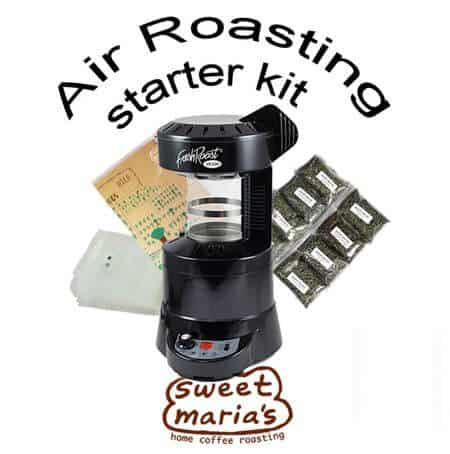 sweet marias air roasting starter kit