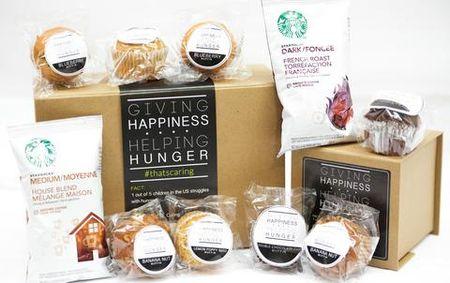 Cookie coffee gift box