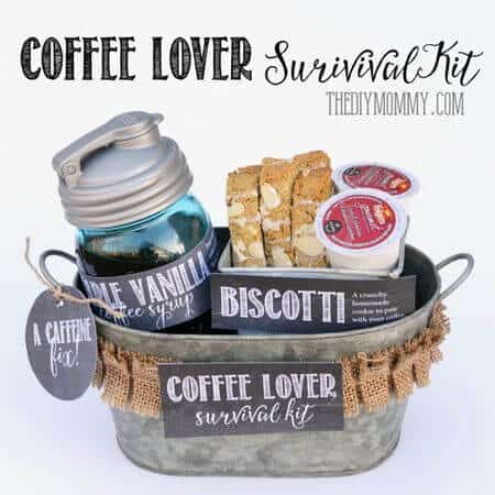 Coffee lover survival kit