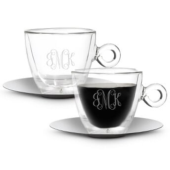 thermic coffee cup set