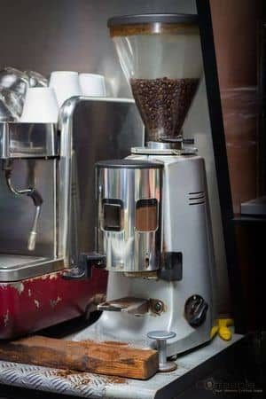 used conical burr coffee grinder