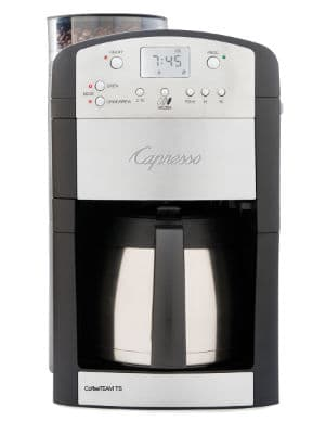 capresso coffeeTEAM TS coffee maker grinder