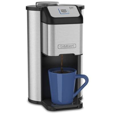 cuisinart dgb-1 single cup coffee maker with blade grinder