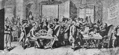 coffee house in germany middle of seventeenth century