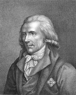 a portrait of  Benjamin Thompson