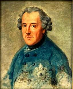 King Frederick The Great Portrait