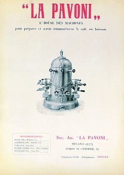 La Pavoni ideal first espresso machine