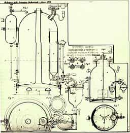 Espresso machine first patent angelo moriondo