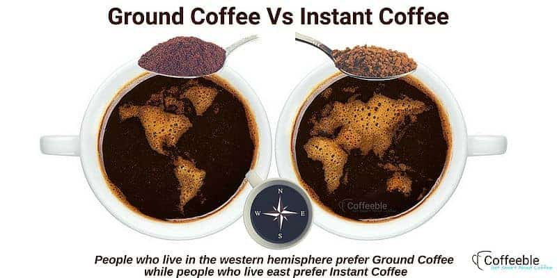 Ground Coffee Vs Instant Coffee