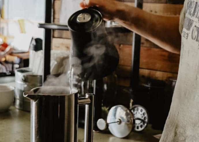 how to use a french press coffee