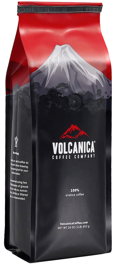 Volcanica Coffee Organic Range