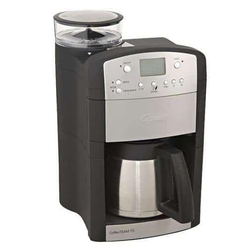 the Capresso TS Coffee Machine on white background