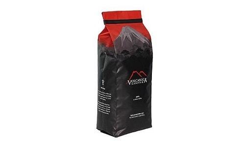 a bag of volcanica coffee