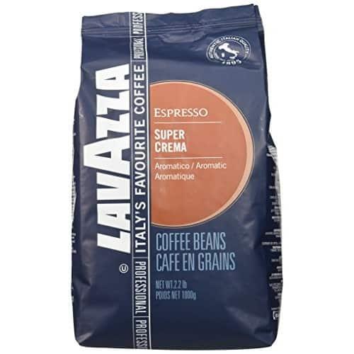a bag of Lavazza Super Crema Whole Beans