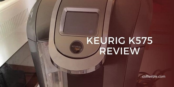 keurig k575 review coffee machine