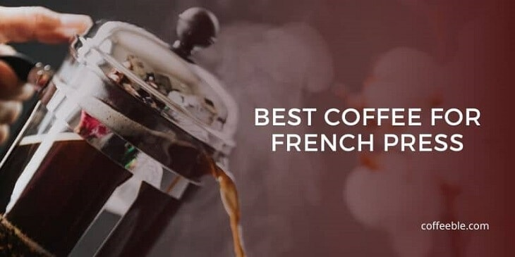 coffee pouring out of a french press