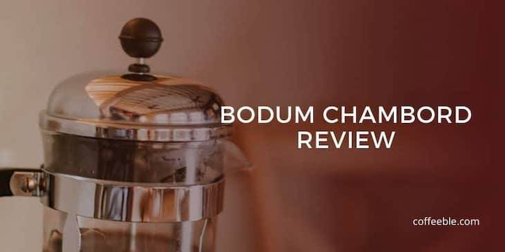 top part of the bodum chambord