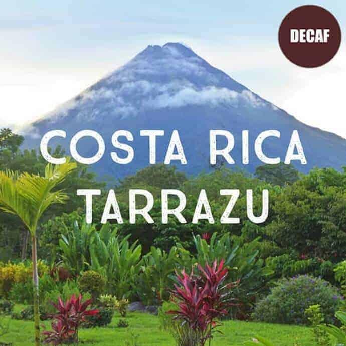 Costa Rica Decaf Tarrazu Coffee 16 oz