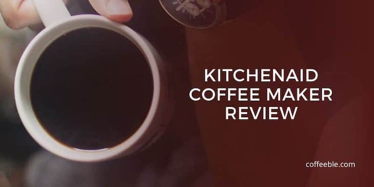 KitchenAid Pour Over Coffee Maker Review