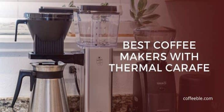 the technivorm moccamaster, which is one of the best coffee makers with thermal carafe