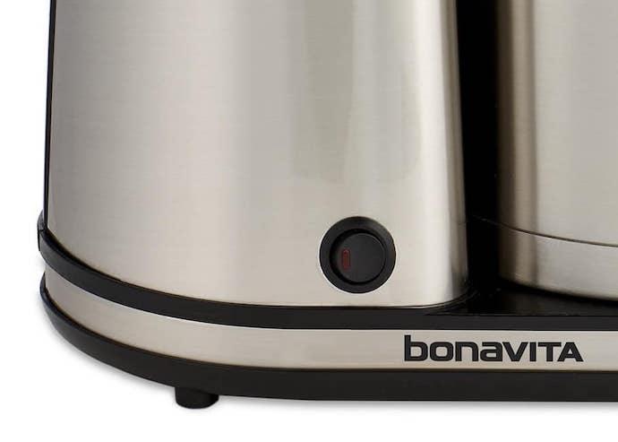 Bonavita bv1900ts pre-infusion button