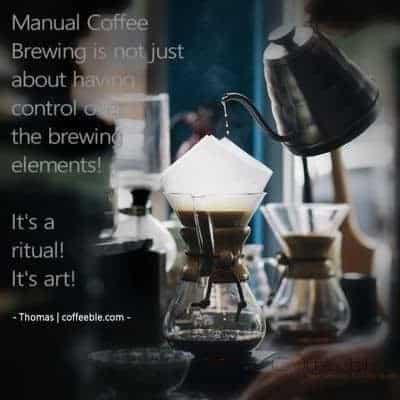 chemex manual coffee maker